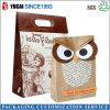 Customized Fashion Kraft Paper Bag Owl Paper Bag