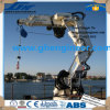10t15m Hydraulic Knuckle Boom Marine Cylinder-Luffing Ship Deck Crane