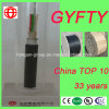 GYFTY 6 Core Thunder-Proof Non-Metallic Non-Armored Optical Fiber Cable for Aerial or Duct