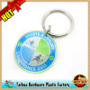Promotion Round Printed Metal Keychain (TH-06985)