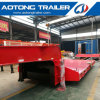 80 Tons 2 Line 4 Axle Extendable Low Loader Trailer