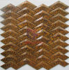 V Shape Metal Copper Mosaic Tile for Wall Only (CFM1085)