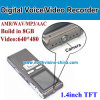 Digital Voice Recorder with Camera, 1.3m Camera, 640*480 AVI, MP3 Player, Wav, 600mAh Battery. Build in 8GB Memory
