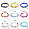Fashion Jewelry Evil Eye Shamballa Bracelet (MIX-1)