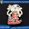 Colorful Creative Shape Popular Metal Badge
