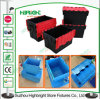 Plastic Nestable Moving Box Turnover Box with Lid