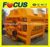High Mixing Efficiency Compulsory Twin Shaft Concrete Mixer Js2000