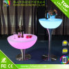 Low Factory Price PE Material Modern LED Bar Cocktail Table with 16 Colors Changing