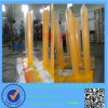 Yellow Powder Coating Steel Barrier Bollard / Post (ISO approved)