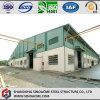 Steel Structure Warehouse with Metal Sheet Cladding