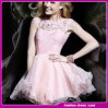 Fancy Ladies Sleeveless Sequin Cocktail Ball Gown Sweetheart Wedding Dress (ZZ-2424)