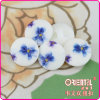 Fashion Flower Printed Button
