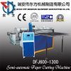Semi-Automatic Paper Roll Sheeting Machine with Magnetic Powder Brake