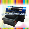 2014 New Design A3 Small Size UV Flatbed Printer 4 Colors Plus White Color with High Resolution