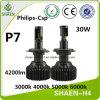 P7 4200lm Auto Car H4 LED Headlight