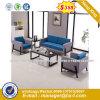 Modern Genuine Leather Office Sofa Set (HX-8N0374)