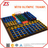 Factory Price Commercial Jumping Big Kids Indoor Trampoline Bed for Sky Zone