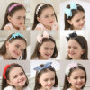 Bow Hairband Soft Elastic Bowknot Headband Hair Accessories for Children