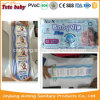 Two Colours PE Film Disposable Baby Diapers for OEM All Sizes