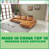 Living Room Furniture Modern Genuine Leather Sofa Bed
