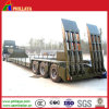 120tons 3lines 6axles Heavy Duty Truck Semi Lowbed Semi Trailers