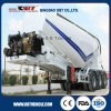 3 Axle Bulk Cement Powder Cargo Tank Trailer with Air Compressor and Engine