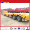 2 Axle Truck Gooseneck 30 Tons Lowbed Semi Trailer