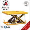 AC Power Inmoveable 4000kg Motorcycle Electric Double Scissor Lift Table