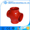 FM UL Ductile Iron Cross Fittings with Good Price
