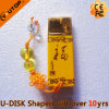 Business Gifts Yellow Ceramic USB Flash Memory (YT-9104)