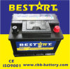 Bestart Rechargeable Car Battery Auto Battery Bci 42 (DIN45)