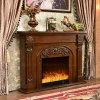 European Wood LED Heater Electric Fireplace Hotel Furniture (337B)