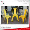 Modern Restaurant China Home Yellow Metal Dining Chair (TP-21)