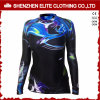 Sublimation Printing Long Sleeve Rash Guard Shirt for Women (ELTRGJ-264)