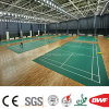 High Quality Indoor Green PVC Flooring Vinyl Sports Floor for Badminton Tennis 4.5m