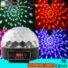 LED Crystal Magic Ball Light Six Color LED Stage Ball Light Disco Party Light with DMX512