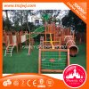 Attractive Children Climbing Wooden Outdoor Playground with Net