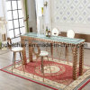 Good Quality Stainless Steel Living Room High Legs Bar Table