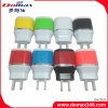 Mobile Phone Wall Plug 2 USB Adapter Travel Charger for Samsung