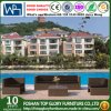 Hotel Outdoor Furniture Holiday Village Rattan Aluminium Sofa Set (TG-JW09)