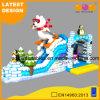 Polar Bear Design Inflatable Jumping Bouncer Slide Combo (AQ01751)