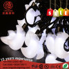 LED Moon Shape White Ce RoHS String Light Fo Ramadan Decoration