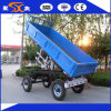 Double Axles 4-Wheels 8t Tipping Trailer with Ce SGS
