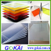Transparent Light Weight 1.8mm Thick Golden Mirror Acrylic Sheet