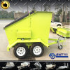 4 Cubic Meter Mobile Skip Trash Trailer