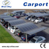 Durable PC Sheet Aluminum Car Parking Garage