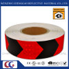 PVC Red and Black Reflective Arrow Tape for Traffic Sign (C3500-AW)
