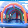 Happy Fun Inflatable Swimming Roof Pool in Summer