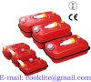 Rood Stalen Jerrycan/Benzinekan Met Schroefdop & Ontluchtingsventiel Voor Opslag En Vervoer Van Brandstof