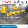 QC12Y-6x2500 Nc Control Hydraulic Swing Beam Shearing Machine